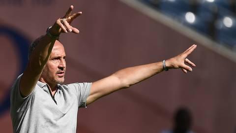 Eintracht-Trainer Adi Hütter. Foto: Jan Huebner