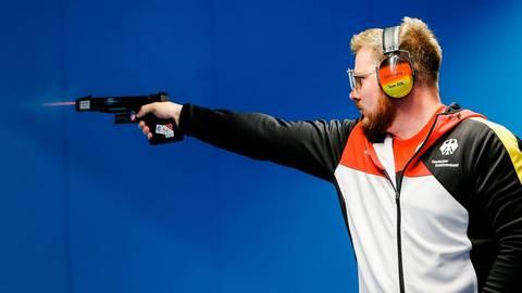 Oliver Geis will, wenn er sich denn wieder für Olympia qualifiziert, um eine Medaille schießen.  Foto: Deutscher Schützenbund