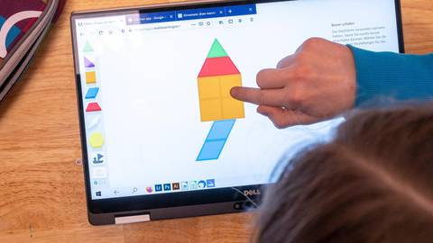 Wie kann digitale Bildung in der Kindertagesstätte aussehen? Symbolfoto: dpa