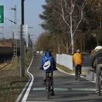 In Wixhausen und nordwärts bis Egelsbach ist der Radschnellweg Darmstadt – Frankfurt bereits befahrbar. Foto: Andreas Kelm