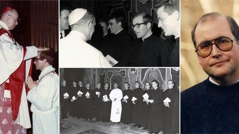 Johannes Werling war katholischer Priester und hat 25 Jahre zölibatär gelebt. Fotos: Privatarchiv Johannes Werling; Montage: VRM