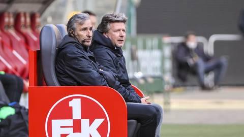 Nach vier Monaten bereits wieder Geschichte: Das FCK-Trainerteam Ryszard Komornicki (links) und Jeff Saibene.  Foto: René Vigneron