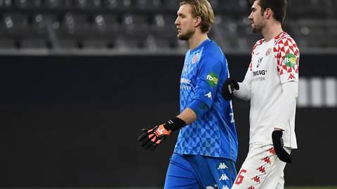 Ex-Kapitän Stefan Bell legte am Samstagabend im Spiel gegen den BVB sein Comeback hin und Robin Zentner zeigte im Tor starken Einsatz. Foto: Jan Hübner