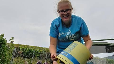 """Verstärkung für """"Vinas"""": Nina Kaltwasser aus Bensheim-Zell ist als siebtes Mitglied dabei. Foto:  Kaltwasser"""