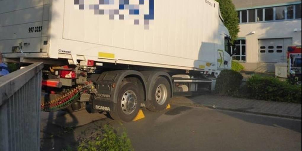 Unfall Mainz