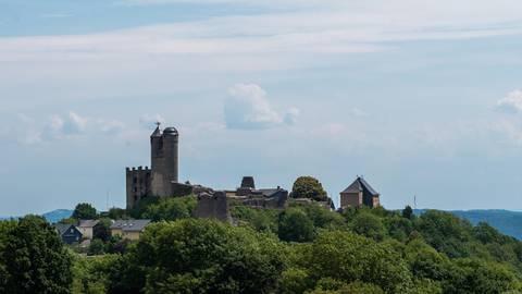 Im Inneren der Burganlage können Besucher heute noch den einstigen Glanz der Festung erahnen. Fotos: Jenny Berns