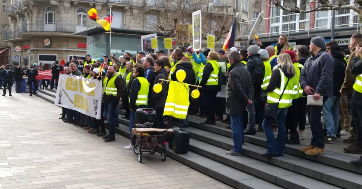 Wiesbaden Demonstration