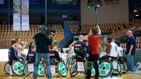 Rückt in vier Wochen als Champions-Cup-Gastgeber mal wieder in den Blickpunkt: die Rollis des RSV Lahn-Dill. Foto: Armin Diekmann
