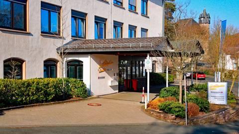DRK-Pflegeheim im ehemaligen Friedrich-Zimmer-Krankenhaus in Herborn. Foto: Siegfried Gerdau
