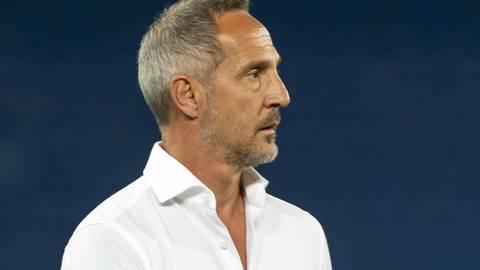 Eintracht Frankfurts Trainer Adi Hütter. Foto: dpa