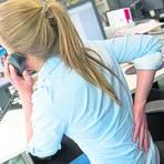 Mangelnde Bewegung ist oft die Ursache für Rückenschmerzen. Homeoffice verstärkt diesen Trend. Foto: dpa