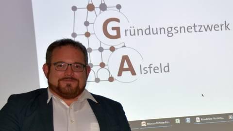 Wirtschaftsförderer Uwe Eifert möchte Alsfelder Gründer unterstützen. Foto: Krämer