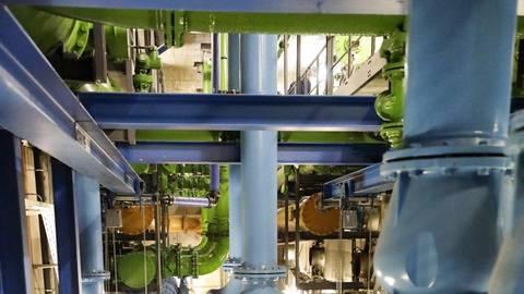 Das Wasserwerk Schierstein ist zu einem reinen Grundwasserwerk geworden. Archivfoto: Sascha Kopp