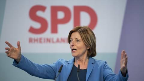 Malu Dreyer, Ministerpräsidentin von Rheinland-Pfalz, stellt auf dem digitalen Landesparteitag der SPD in Mainz den Koalitionsvertrag vor. Foto: dpa