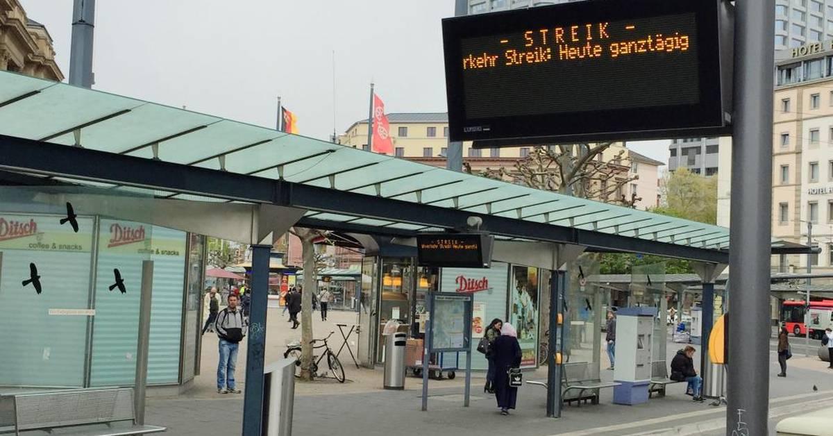 Warnstreik Mainz