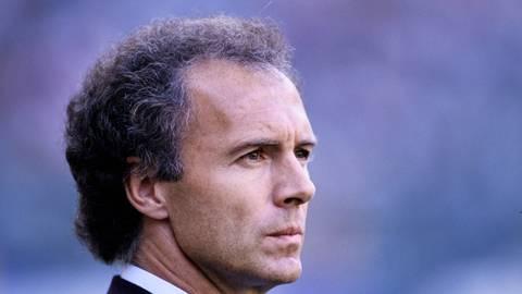 Vater des WM-Coups 1990: Nationaltrainer Franz Beckenbauer. Foto: imago