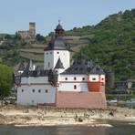Die Pfalz bei Kaub wurde urprünglich als Zollwache errichtet. Foto: Tobias Blank