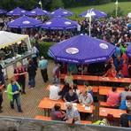 """Der Andrang auf die """"Kulinarische Bierwanderung"""" war groß. Foto: Löffler"""