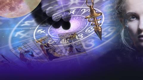 Astrologie, Esoterik und Homöopathie sind weit verbreitet. Foto: AdobeStock – andriano_cz – Robert Przybysz  fergregory – Parato  – imogi – lcswart; dpa – Montage: vrm/fm