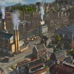 In der Zeit der Industrialisierung besiedeln die Spieler bei Anno 1800 verschiedene Inseln und bauen dort eine Wirtschaft auf. Ende 2019 hatten bereits über eine Millionen Spieler weltweit den in Mainz entwickelten siebten Teil der seit 1998 bestehenden Serie gespielt.  Screenshot: Ubisoft Mainz
