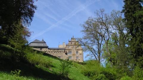 Umgeben von dem schönen Park liegt Schloss Eisenbach. Foto: Archiv Vulkan  Foto: Archiv Vulkan