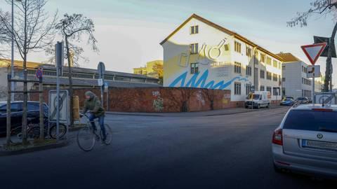 Zum Sanierungsabschnitt gehört auch der Kreuzungsbereich von Haupt- und Liebigstraße. Foto: Harald Kaster