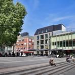 Der Mauritiusplatz in Wiesbaden. Archivfoto: Lukas Görlach