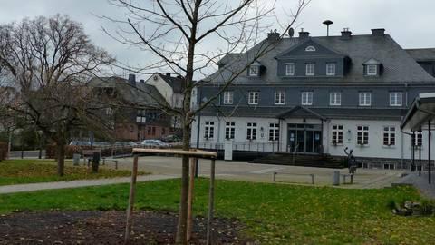 Blick auf Driedorfs Rathaus: In der Gemeindevertretung wechselten die Mehrheiten seit der Gebietsreform 1977 immer wieder einmal. Archivfoto: Klaus Dieter Schwedt
