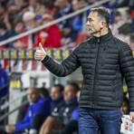 Mainz 05-Trainer Achim Beierlorzer stärkt seinen Spielern trotz der schwierigen Vorbereitung den Rücken. Foto: Lukas Görlach