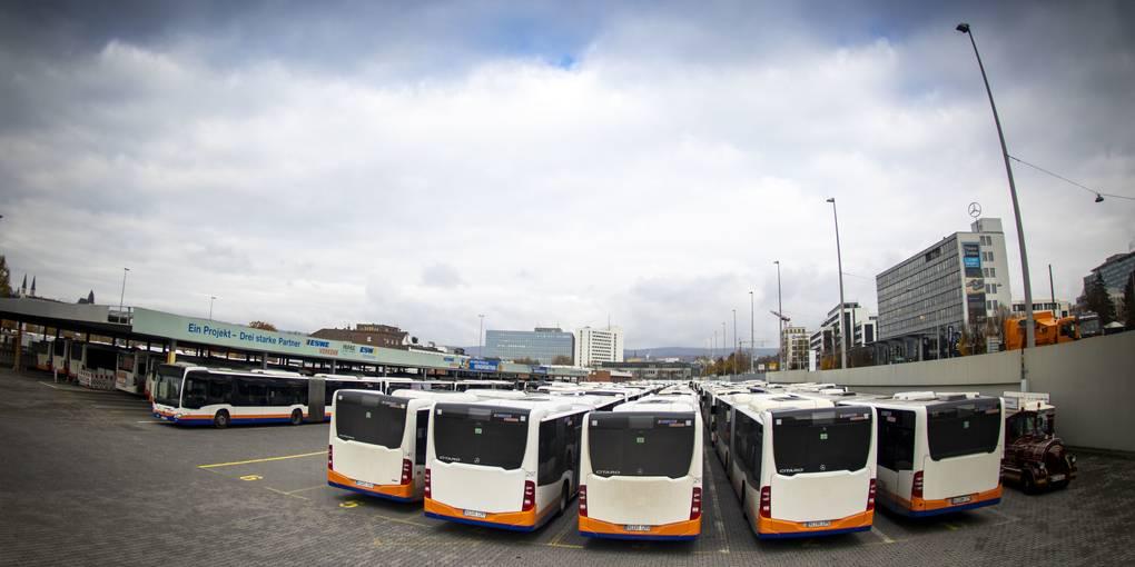 Warnstreiks Busse