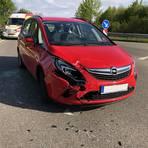 Bei dem Auffahrunfall auf der K37 in der Nähe von Hohen-Sülzen wurde eine 39-Jährige schwer verletzt. Foto: Polizei
