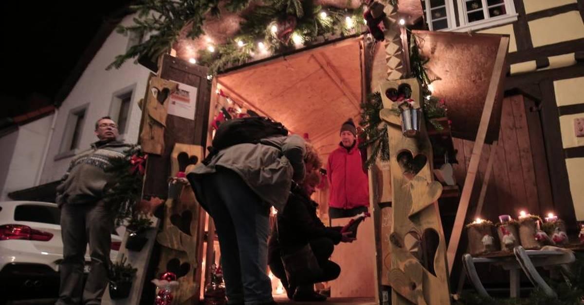 Weihnachtsmarkt Otzberg.Weihnachtsmarkt Unter Der Veste Otzberg
