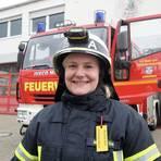 Michelle Buhl ist Feuerwehrfrau aus Leidenschaft. Seit Corona fehlen ihr die Kameradschaft und das Zusammensein. Foto: hbz/Henkel