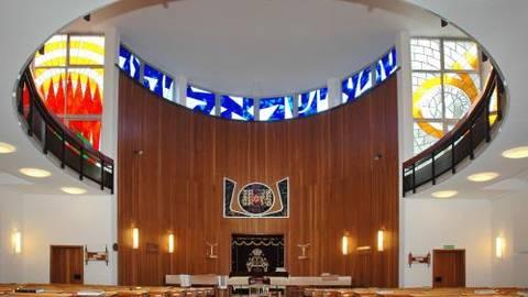 Synagoge Wiesbaden Archivfoto: VRM