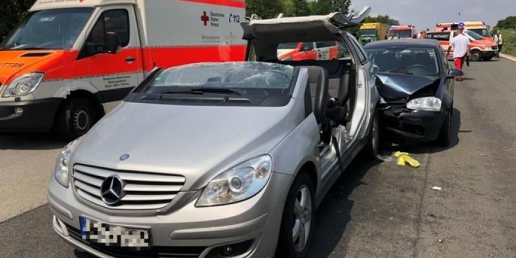 Stau Nach Verkehrsunfall Auf Der A3 Bei Wiesbaden Medenbach