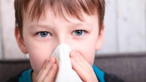 Spätestens im Herbst und Winter werden viele Kinder wieder verschnupft sein. Foto: AdobeStock - ajlantan
