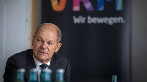 Olaf Scholz stellt im Interview mit VRM klar, dass er keinen Coach will. Foto: Lukas Görlach