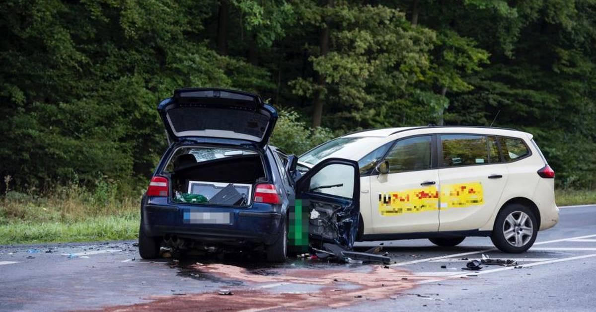 Unfall B456 Usingen