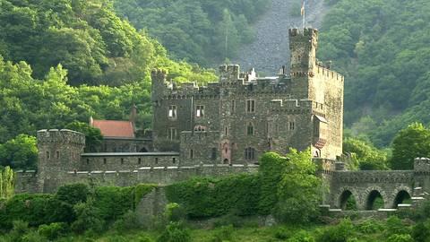 Die Burg Reichenstein in Trechtingshausen Foto: Volker Dziemballa