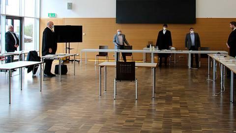Die Verhandlung in Fulda.   Foto: Jasha Günther