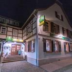 """Urig-gemütlich zeigt sich das Traditionsgasthaus """"Zur Sonne"""" in Alsbach und überzeugt mit ungarischer Küche.Foto: Dirk Zengel"""