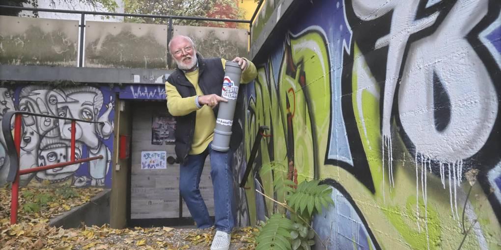 Axel Held braucht mehr Geld für Kanal 70 in Worms