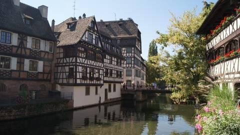 Im Viertel Petit France lebten einst Fischer, Müller und Gerber. Foto: Ute Strunk
