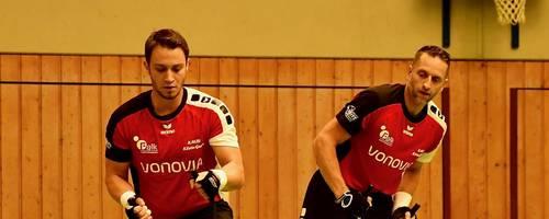 Dank Wildcard beim Weltcup-Finale dabei: Felix Moneck (links) und René Gerbig vom RMSV Klein-Gerau. Archivfoto: Uwe Krämer