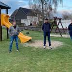 Das sind die Mitglieder des Heisterberger Ortsbeirates (von links): Marvin Stahl, Frank Kühn, René Haag, Sascha Harrer und Ortsvorsteher Andreas Göbel. Foto: Ortsbeirat Heisterberg