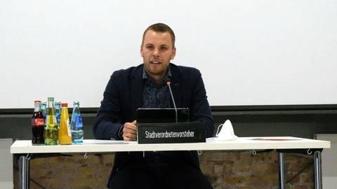 David Rendel (SPD) ist Nachfolger von Angelo Pellilli als Stadtverordnetenvorsteher. Foto: Michael Kapp