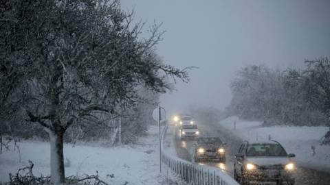 Wetter Die Schneefallgrenze Sinkt Auf 500 Meter
