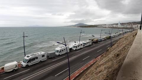 Als infolge der  Corona-Krise die Grenzen geschlossen wurden, saßen Hunderte Wohnmobilfahrer in Marokko fest, darunter viele Deutsche. Noch längst nicht alle sind  bislang nach Hause zurückgekehrt. Archivfoto:  Hartmut Dassel