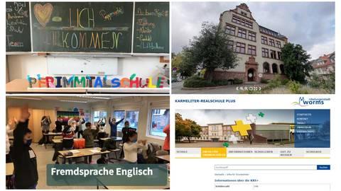Die Realschulen plus wollten sich bei Tagen der offenen Tür vorstellen. In der Pandemie geht das nicht. Dafür wurden die Homepages aufgepeppt.Screenshots: VRM/sbi