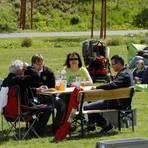 Dass sich der Bad Schwalbacher Kurpark zunehmend als Anziehungspunkt für Familien erweist, wird von der LGS-GmbH als Erfolg bewertet.Foto: Harald Kaster  Foto: Harald Kaster
